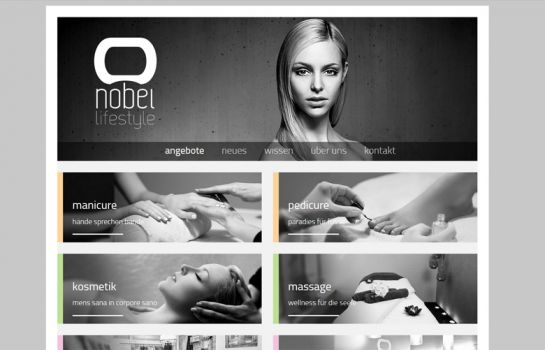 Nobel Lifestyle: Kunde Webdesign