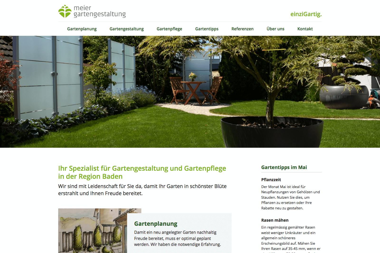 Www.meier Gartengestaltung.ch